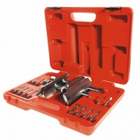 Ключ для гаек ступицы универсальный 49-143 мм кейс 13 предметов МАСТАК 100-42013C
