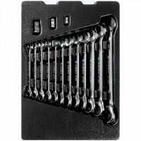 Набор комбинированных ключей с трещоткой ложемент 15 предметов KING TONY 9-10215MR