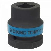 Головка торцевая ударная четырехгранная 1 20 мм футорочная KING TONY 851420M