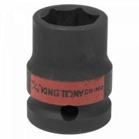 Головка торцевая ударная шестигранная 1/2 11/16 дюймовая KING TONY 453522S