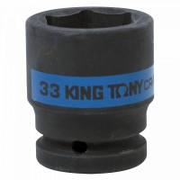 Головка торцевая ударная шестигранная 3/4 33 мм KING TONY 653533M