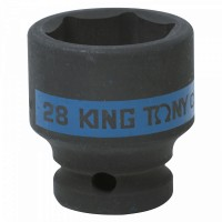 Головка торцевая ударная шестигранная 1/2 28 мм KING TONY 453528M