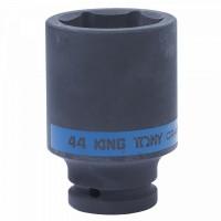 Головка торцевая ударная глубокая шестигранная 3/4 44 мм KING TONY 643544M