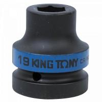 Головка торцевая ударная шестигранная 1 19 мм KING TONY 853519M