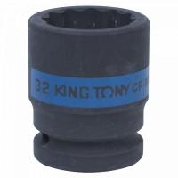 Головка торцевая ударная двенадцатигранная 3/4 32 мм KING TONY 653032M