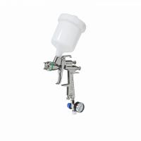 Краскопульт низкого давления 10011 HVLP сопло 1,7 мм верхний бачок кейс  ASTUROMEC 48017