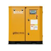Винтовой компрессор с ременным приводом BERG ВК-5.5Р, давление 12 бар