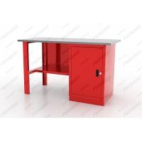 Ferrum 01.100L Верстак однотумбовый, дверь, серия L, оцинкованная столешница