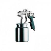 Краскопульт высокого давления UR Plus сопло 2,5 мм нижний бачок алюминиевый ASTUROMEC 27025