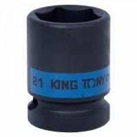 Головка торцевая ударная шестигранная 1/2 21 мм KING TONY 453521M