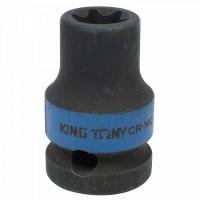Головка торцевая ударная глубокая TORX Е-стандарт 3/4 E18 L = 110 мм KING TONY 647518M