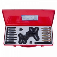 Набор инструментов для снятия шкивов 25-125 мм 18 предметов KING TONY 9BG11
