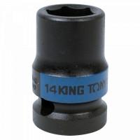 Головка торцевая ударная шестигранная 1/2 14 мм KING TONY 453514M