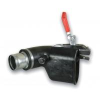 Насадка резиновая на сдвоенную трубу с зажимом BGA -75-PM Filcar