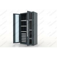 Ferrum 13.2662 Шкаф инструментальный Premium двери со стеклом, перегородка, 6 ящ., 6 полок