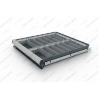 Ferrum 15.003 Комплект разделителей ящика тумбы инструментальной Premium_14 ячеек