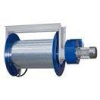 Катушка механическая для вытяжного шланга диам.100 мм (длиной 10м) с вентилятором 0,37 кВт ARCA-100-PB Filcar