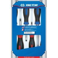 Набор отверток 6 предметов KING TONY 31116MR01