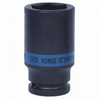 Головка торцевая ударная глубокая шестигранная 3/4 35 мм KING TONY 643535M