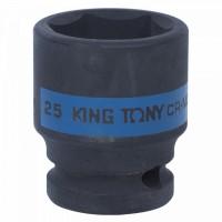 Головка торцевая ударная шестигранная 1/2 25 мм KING TONY 453525M