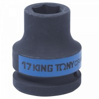 Головка торцевая ударная шестигранная 3/4 17 мм KING TONY 653517M