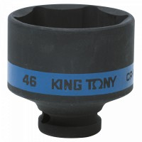 Головка торцевая ударная шестигранная 1/2 46 мм KING TONY 453546M