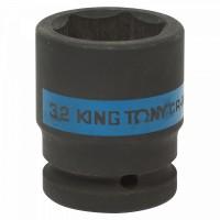 Головка торцевая ударная шестигранная 3/4 32 мм KING TONY 653532M