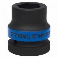 Головка торцевая ударная шестигранная 1 27 мм KING TONY 853527M