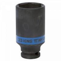 Головка торцевая ударная глубокая шестигранная 1/2 33 мм KING TONY 443533M