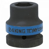 Головка торцевая ударная шестигранная 1 24 мм KING TONY 853524M