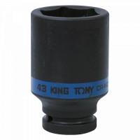 Головка торцевая ударная глубокая шестигранная 3/4 43 мм KING TONY 643543M