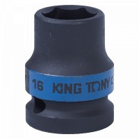 Головка торцевая ударная шестигранная 1/2 16 мм KING TONY 453516M