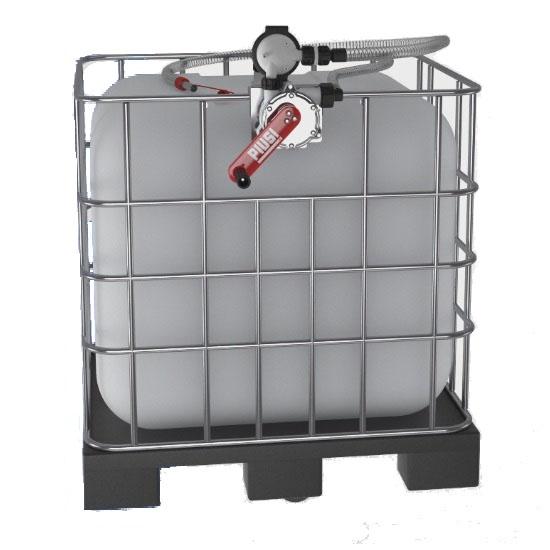 PIUSI F00332B00 Ручной насос на IBC контейнер с фильтром для воды, антифриза, adblue