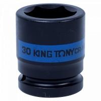 Головка торцевая ударная шестигранная 3/4 30 мм KING TONY 653530M