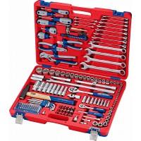 Набор инструментов универсальный 155 предметов МАСТАК 01-155C
