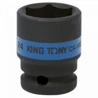 Головка торцевая ударная шестигранная 1/2 24 мм KING TONY 453524M