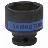Головка торцевая ударная шестигранная 1/2 34 мм KING TONY 453534M