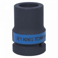 Головка торцевая глубокая ударная четырехгранная 1 21 мм футорочная KING TONY 853421M