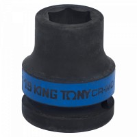 Головка торцевая ударная шестигранная 3/4 19 мм KING TONY 653519M