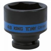 Головка торцевая ударная шестигранная 3/4 48 мм KING TONY 653548M