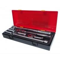 JTC-K3081 Набор головок для свечей зажигания с динамическим ключом 8 предметов в кейсе