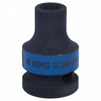 Головка торцевая ударная шестигранная 1/2 08 мм KING TONY 453508M