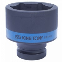Головка торцевая ударная шестигранная 1 65 мм KING TONY 853565M