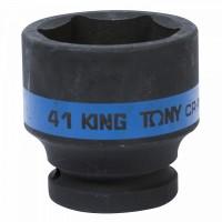 Головка торцевая ударная шестигранная 3/4 41 мм KING TONY 653541M