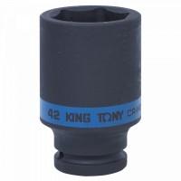Головка торцевая ударная глубокая шестигранная 3/4 42 мм KING TONY 643542M
