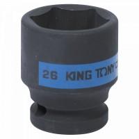 Головка торцевая ударная шестигранная 1/2 26 мм KING TONY 453526M