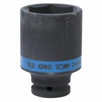 Головка торцевая ударная глубокая шестигранная 3/4 48 мм KING TONY 643548M