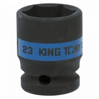 Головка торцевая ударная шестигранная 1/2 23 мм KING TONY 453523M