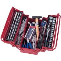 Набор инструментов универсальный раскладной ящик 103 предмета KING TONY 902-103MR