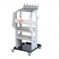JTC-5515 Тележка инструментальная 4 секции для диагностического оборудования